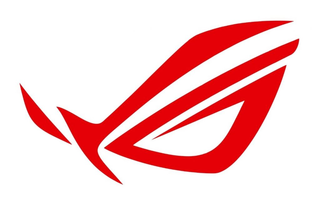 Red Asus Logo on White Background