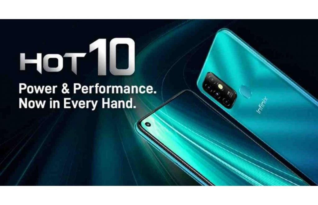 Infinix Hot 10 performance and power