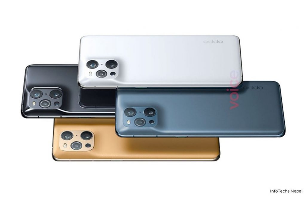 oppo find x3 pro phone overview and back design